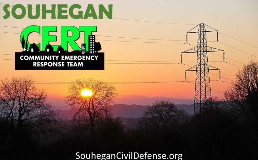 Emergency Checklist from Souhegan CERT