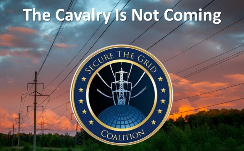 The cavalry is not coming